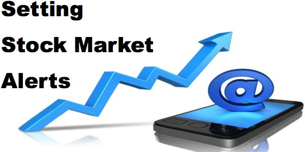 stock market alerts