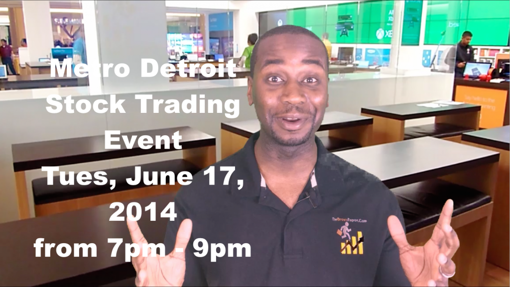 Metro Detroit Stock Trading Event